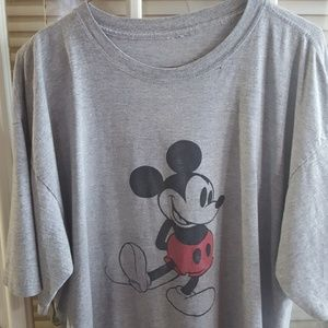 Vintage xl mickey mouse tee